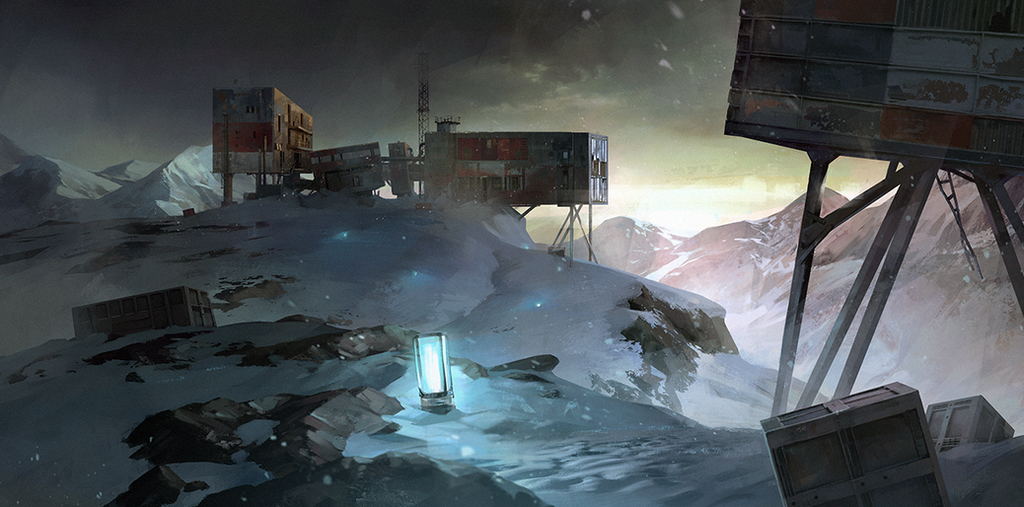 Winter landscape by Nonparanoid