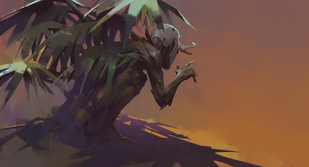 Treeman by Nonparanoid