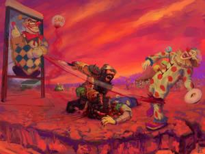 Bossfight1.0: Henry Senior vs. Calico the Clown