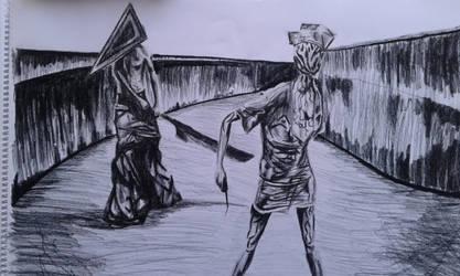 Silent hill fan art by tomotoki
