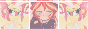 Cute Sunset Shimmer ~ Page decoration