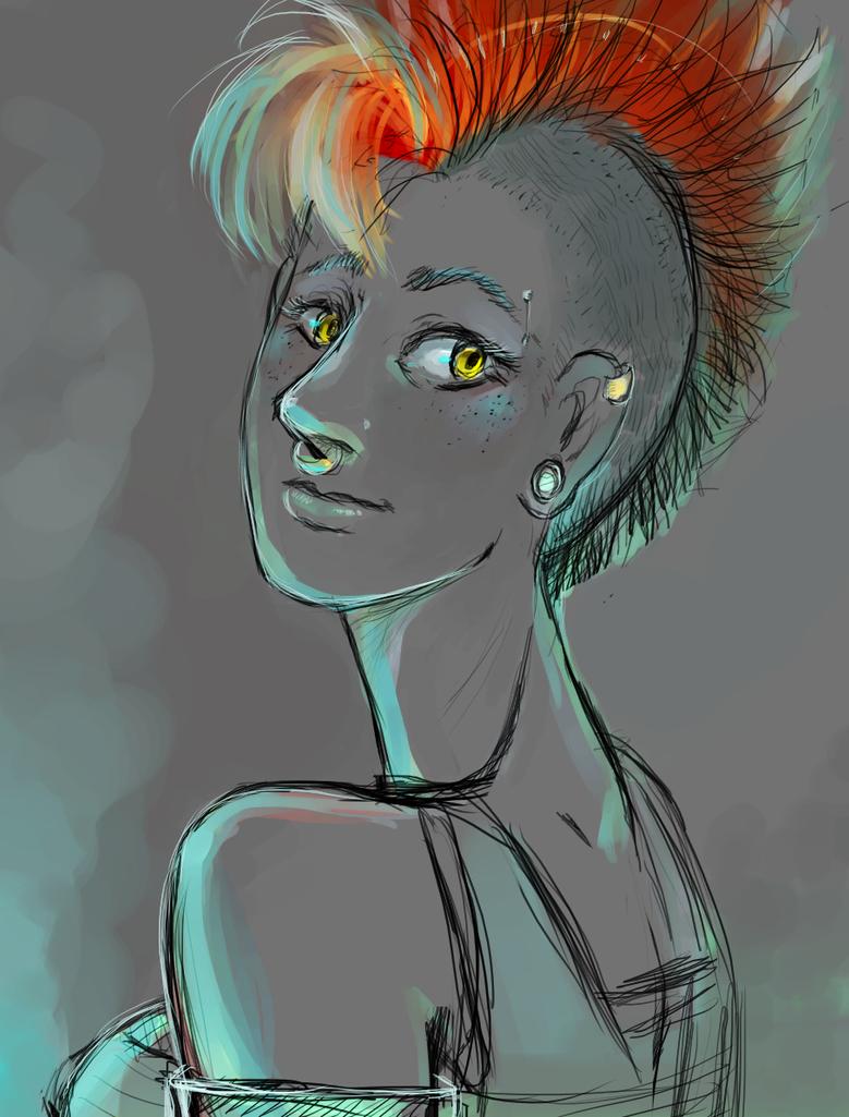 Molly, Dream girl by pho3nixdown