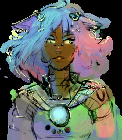 The Goddess by pho3nixdown