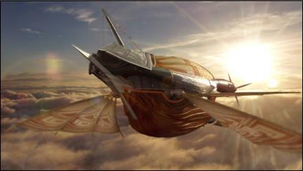 my airship by ShAwNKuN