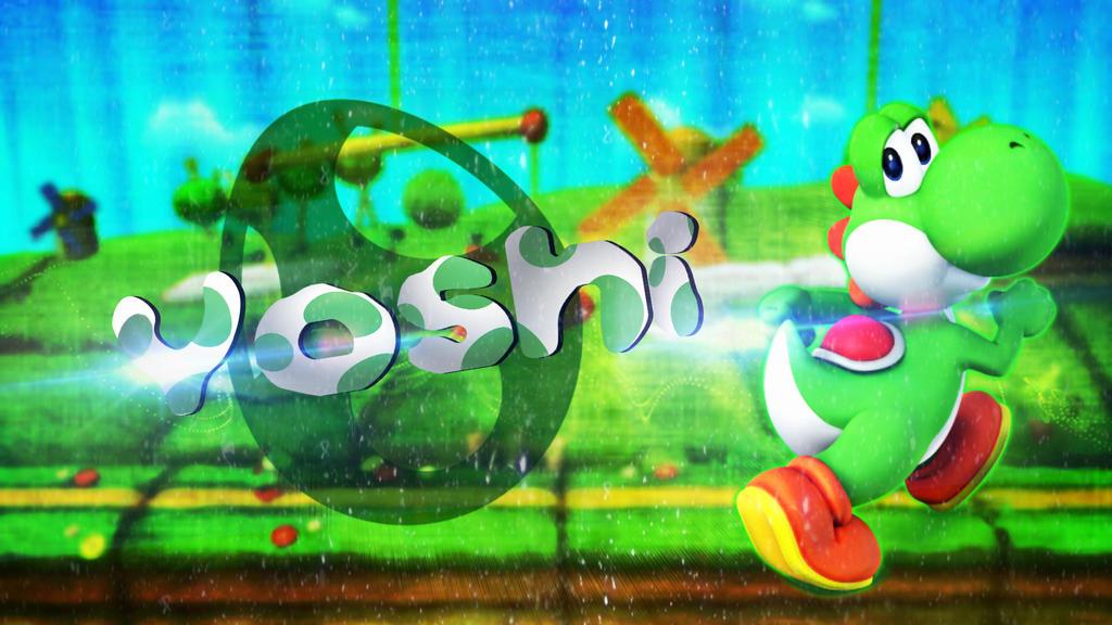 yoshi wallpaper by kurosaki021 on deviantart