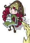 Dragon Trainer Lulu [LoL] by PtatoPi3