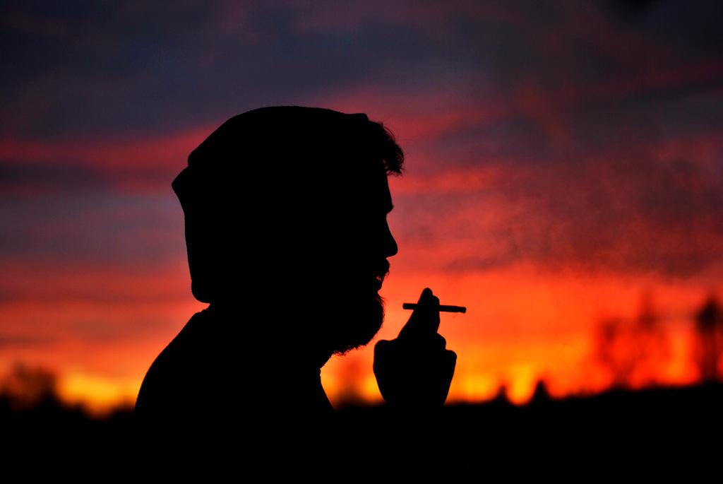 Sunset Smoke by KattFloka
