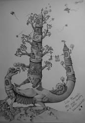 Weird creature by Schinkenspicker