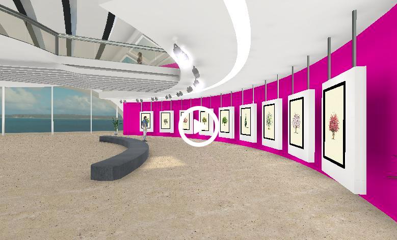 My 3D Art Gallery by reinelisa