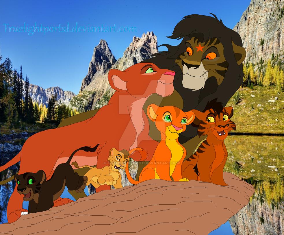 Squirrelflight And Bramblestar S Family By Thunderstar711