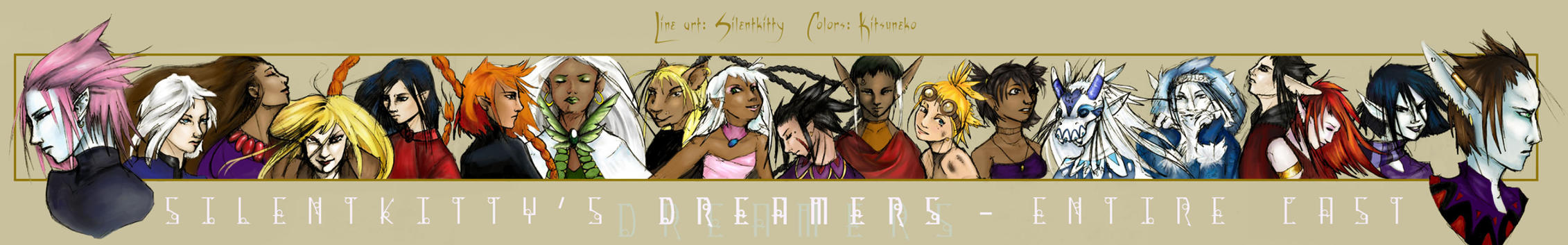 Silentkitty's Dreamers by kitsuneko
