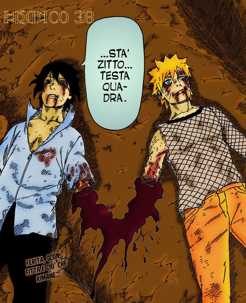 Naruto and Sasuke by FrankyTheCrazyGuy