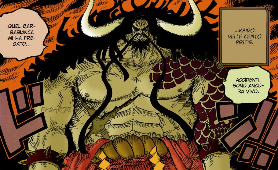 Emperor Kaidou by FrankyTheCrazyGuy