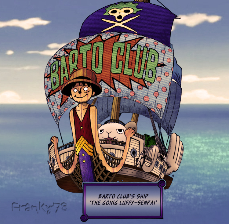 Going Luffy Senpai by FrankyTheCrazyGuy