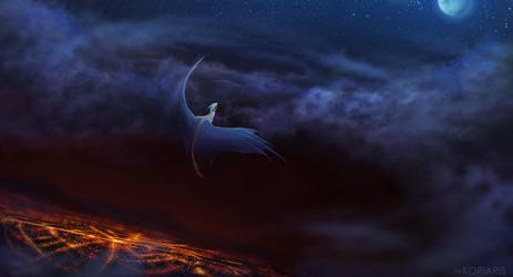 Red skies by Koriaris