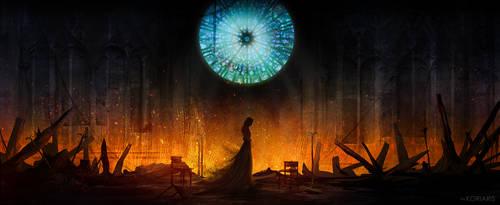 Fire by Koriaris