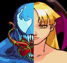 venom and morrigan by bgsonicgt