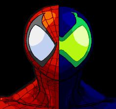 spiderman and sener by bgsonicgt