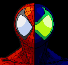 spiderman and sener by bgsonicgt