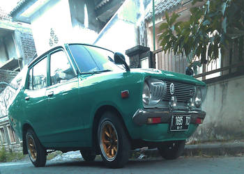 Mini Datsun 120y 1975 by clostrophobic