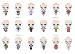 Naruto Outfit Adopts #4 (13/18 OPEN)