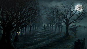 halloween nightmare by skunsss