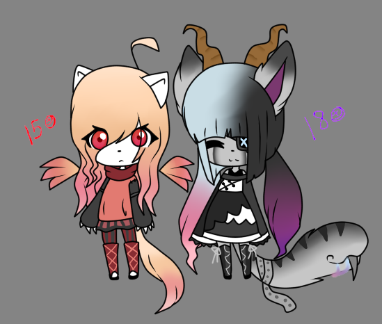 Adoptables Nuevos [closed] by percivalxthexwolfx