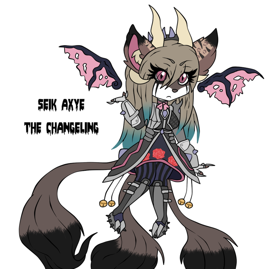 Seik Axye The Changeling by percivalxthexwolfx