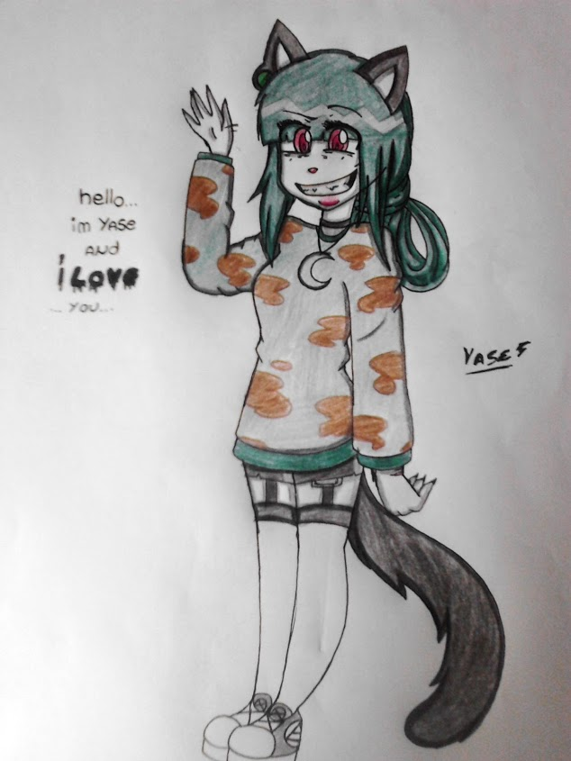 Yase the slayer cat by Niut-LilJazzy
