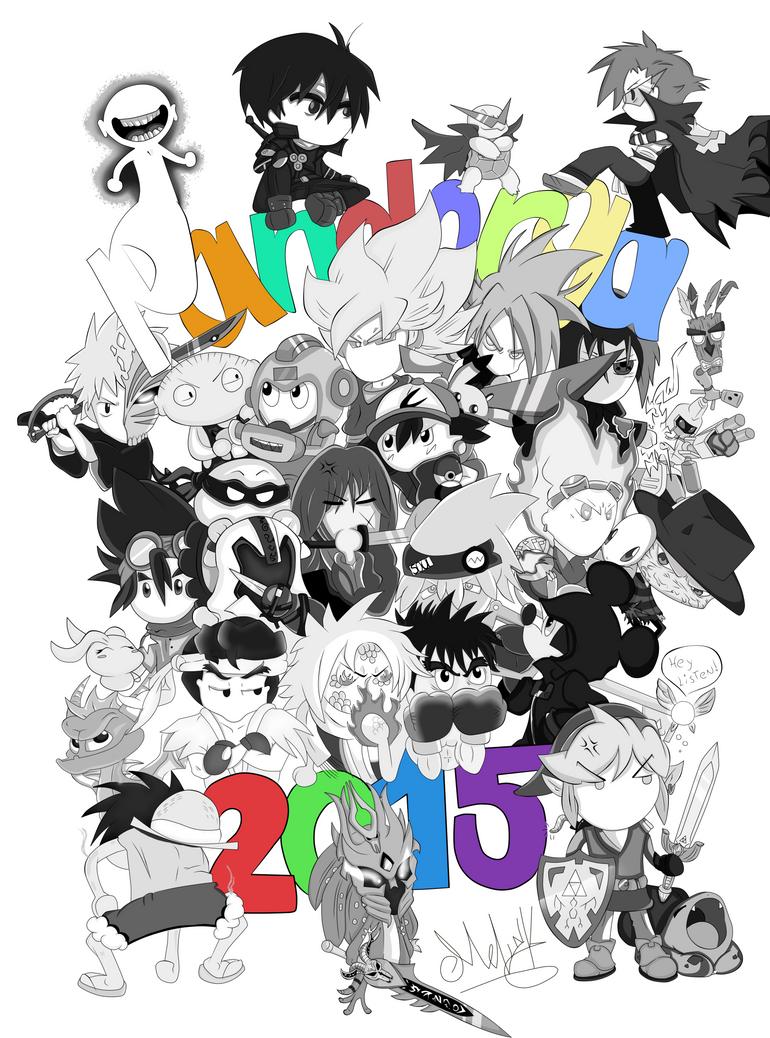 Dibujo pandorga 2015-anime,games and manga by Niut-LilJazzy