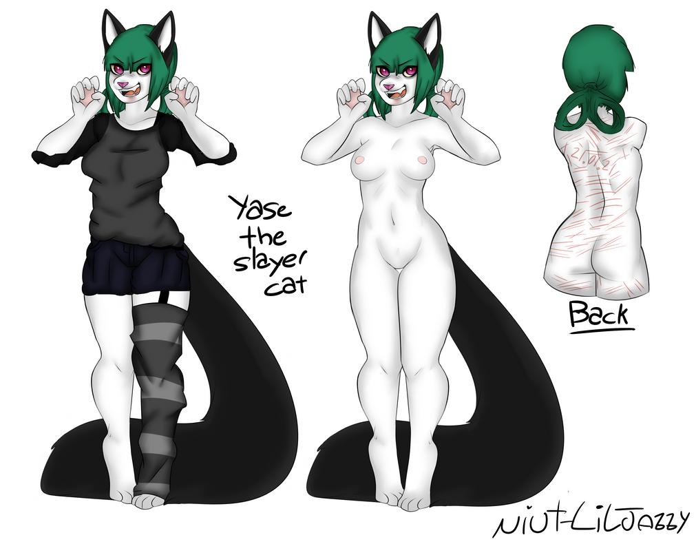 Yase The Slayer Cat Ref by Niut-LilJazzy