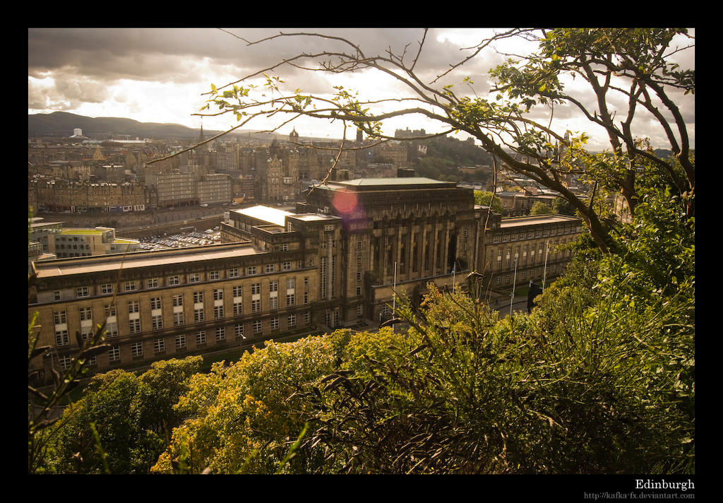 Edinburgh by KaFKa-FX
