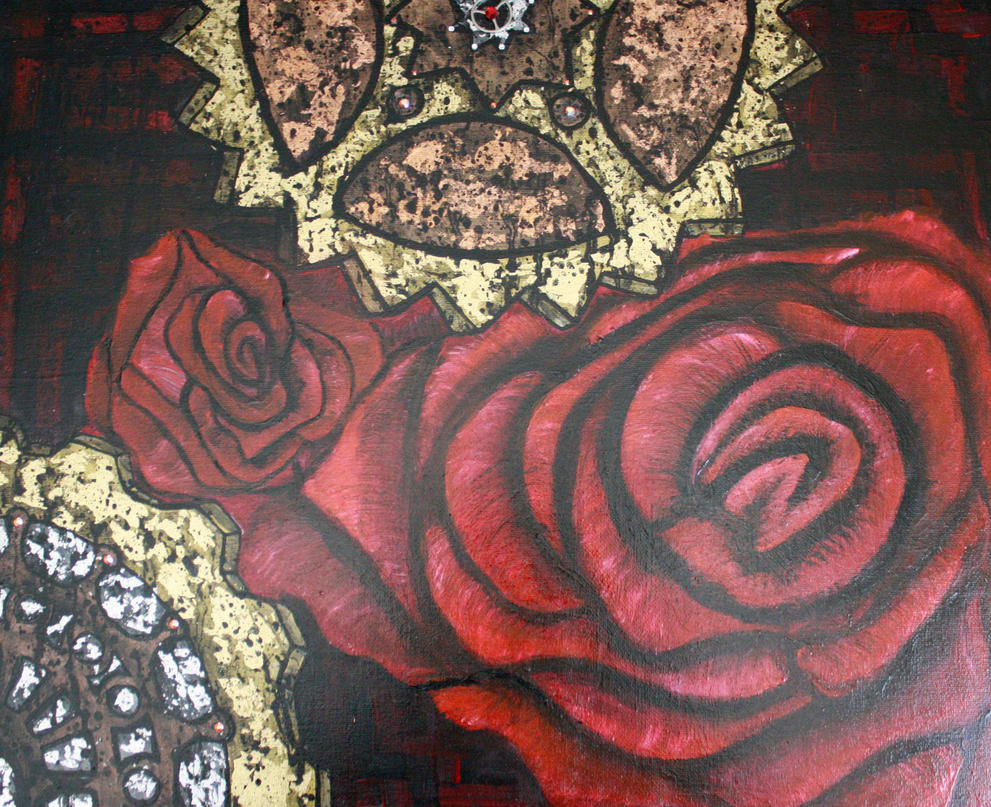 Gears of war of the roses by Bex013