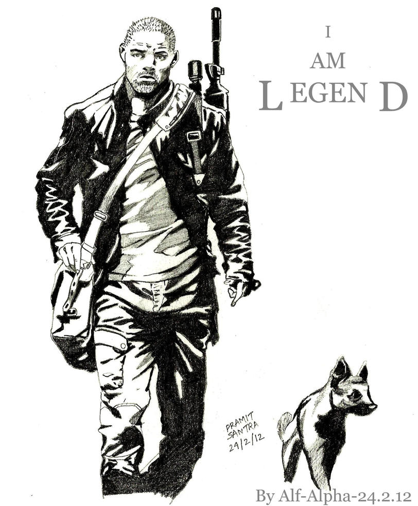 I Am Legend Alpha Male