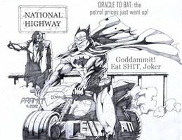 Eat shit, Joker! by Alf-Alpha