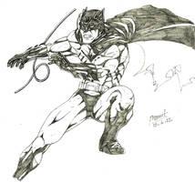 Batman redesign...well kinda by Alf-Alpha