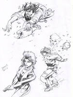 Life-Time:Character Sketches by Alf-Alpha