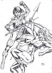 Phylla Vell and Star Sapphire