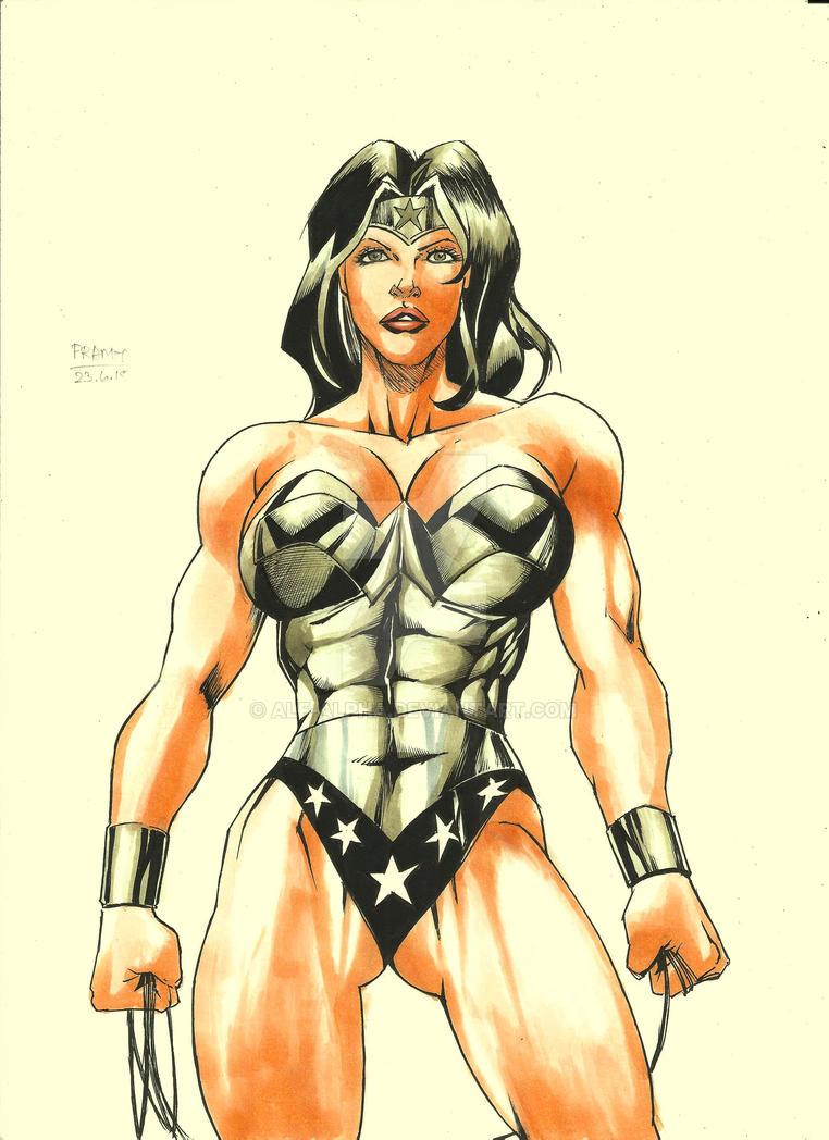 Wonder Woman by Alf-Alpha