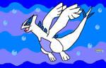 Lugia Pokemon SoulSilver by kirbysuperstar97