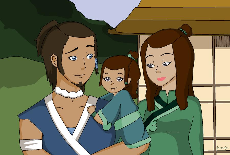Sokka and Suki's baby by Jackie-lyn