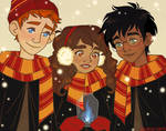 Golden Trio by Jackie-lyn