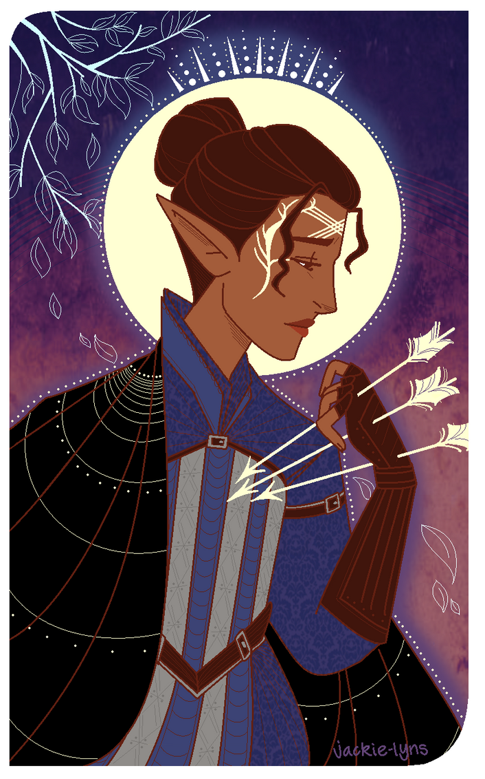 Nyco Tarot Card by Jackie-lyn
