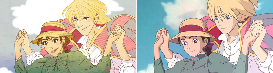 Howls Moving Castle Redraw by Jackie-lyn