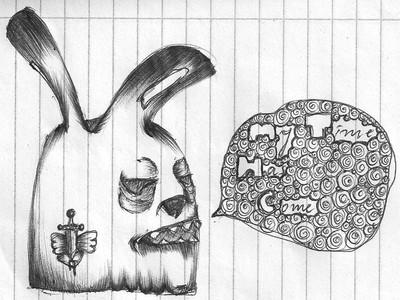 Bunnie by Anemone-Fairy