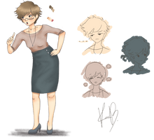 [PA] Staff - Kara Baker by HDLyssie