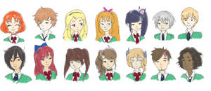 Patrician Academy Students by HDLyssie