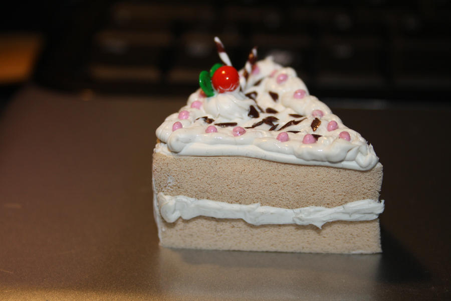 Squishy cake slice charm 3 by KodouLiliac on DeviantArt