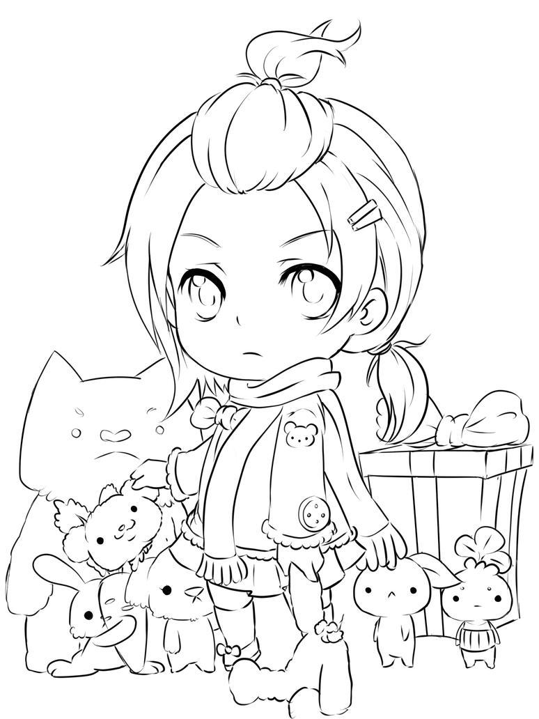 Pity little teddy by fuka enrique on deviantart - Manga a colorier et a imprimer ...
