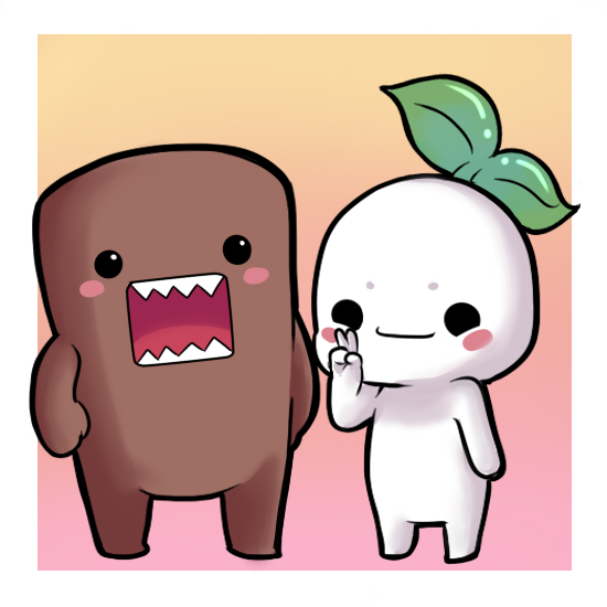 Fuka And Domo Kun By Enrique